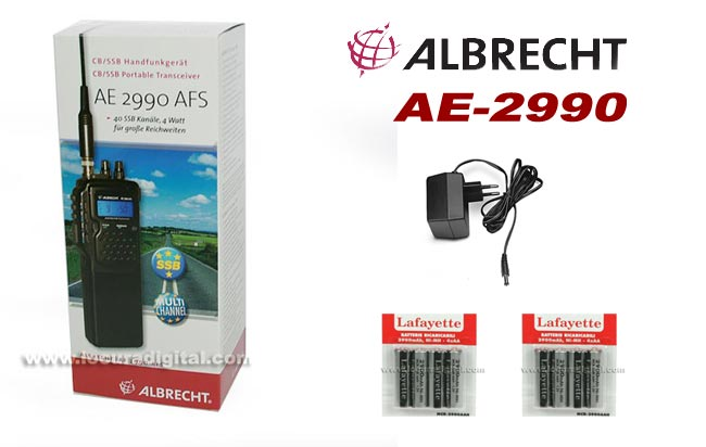 AE-2990 KIT-1 ALBRECHT ALAN/MIDLAND 40 CANALES walkie CB 27 Mhz. con banda lateral SSB