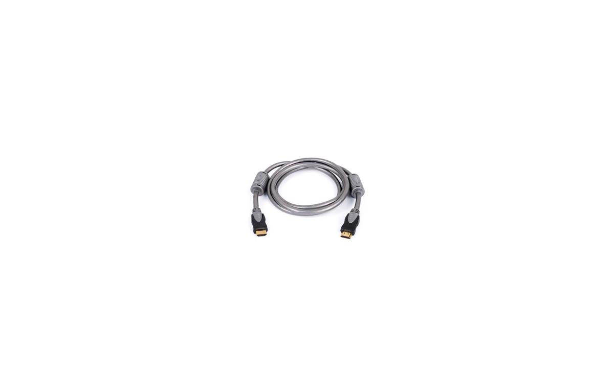 AV-0400E Cable conexion HDMI Macho-Macho de 19 pins tipo A. Longitud 1,5 metro. Especial ALTA DEFINI