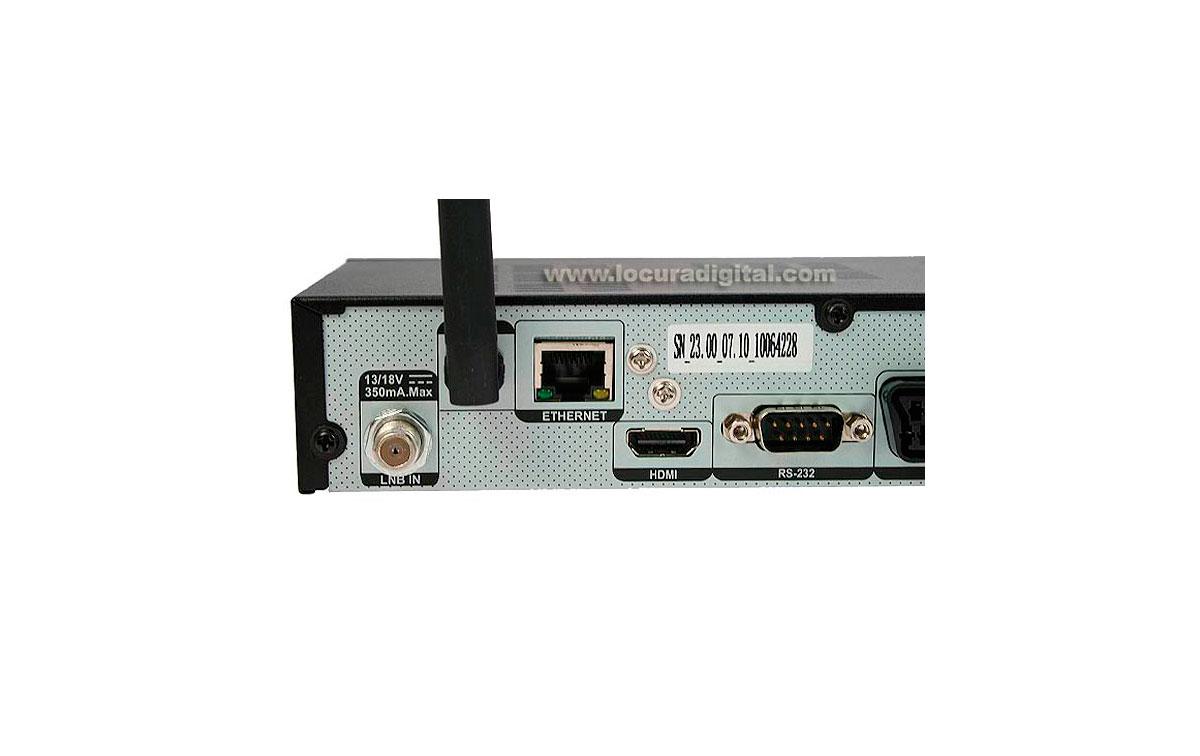IRIS9600HD 02 IRIS Receptor satélite IRIS 9600HD WIFI. Alta definición HD 02