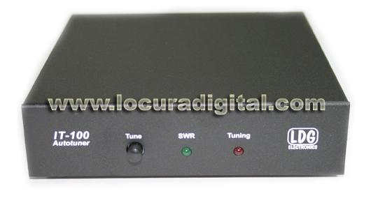 Vista frontal LDG IT-100