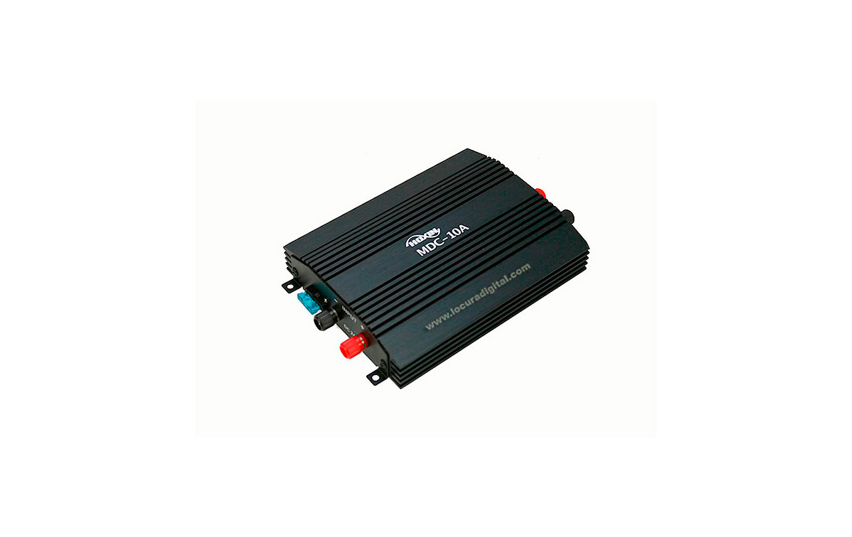 MDC10A HOXIN Conversor DC-DC. Reductor de tensión 24 - 12 voltios 10 amperios. Tecnología lineal de alta calidad muy resistente.