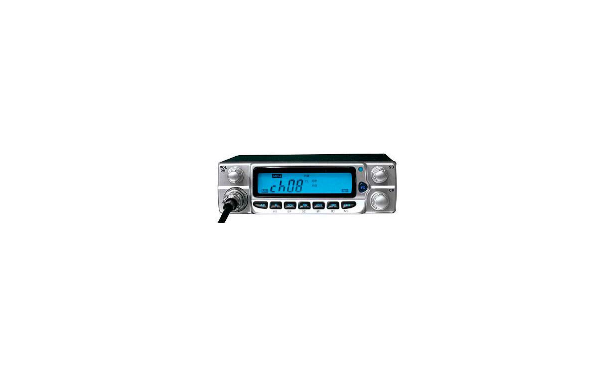ZEUSSILVER. Emisora CB 27 Mhz. marca LAFAYETTE modelo ZEUS SILVER. Altas prestaciones. Color plata