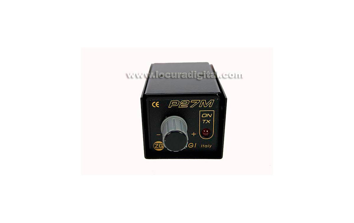 P27m Zetagi Antenna Preamplifier Cb 27 Mhz Adjustable 25 Db Gain Uhf Preamplificador De Antena Ganancia Regulable