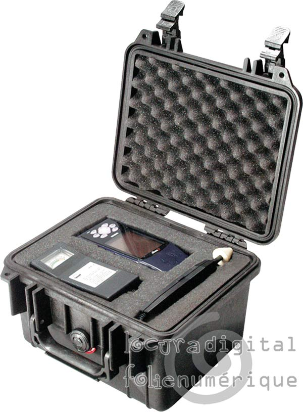 1300-000-110 Protective Case Black with Foam