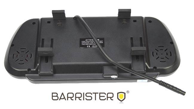 "BRV-500 Barrister monitor 7 ""rearview mirror type BRV5 Kit"
