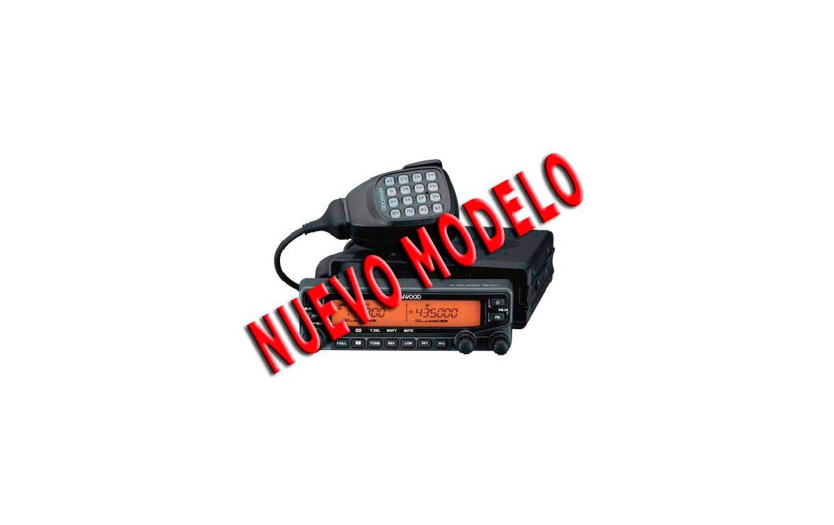 TM-V71E KENWOOD Emisora Bibanda 144/430 Mhz - NUEVO MODELO - Conector antena N hembra
