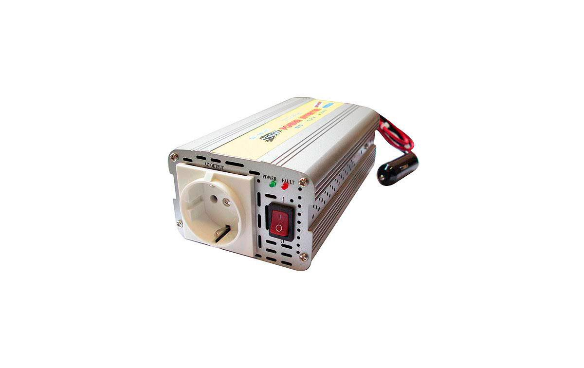 WHS150  24. INVERSOR 24 V. a 220 V. Potencia 150 WAT.