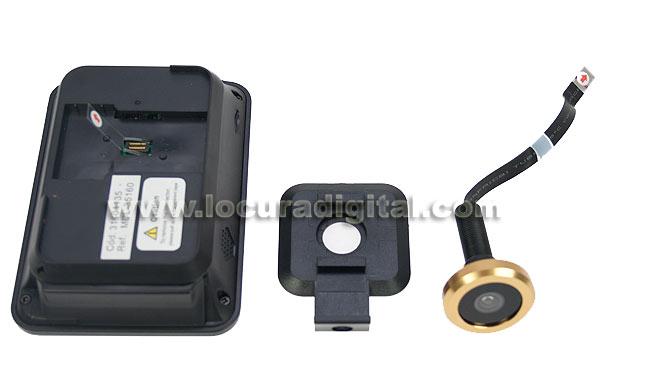 MDL35160 GOLMAR Mirilla electrónica para puertas.