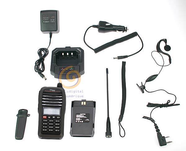 POLMAR DB32 KIT1 Dualband VHF / UHF Handheld 8 SCRAMBLER and 5 TONES!