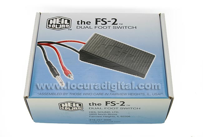HEIL SOUND FS-2 CONTRO DE PIE PTT