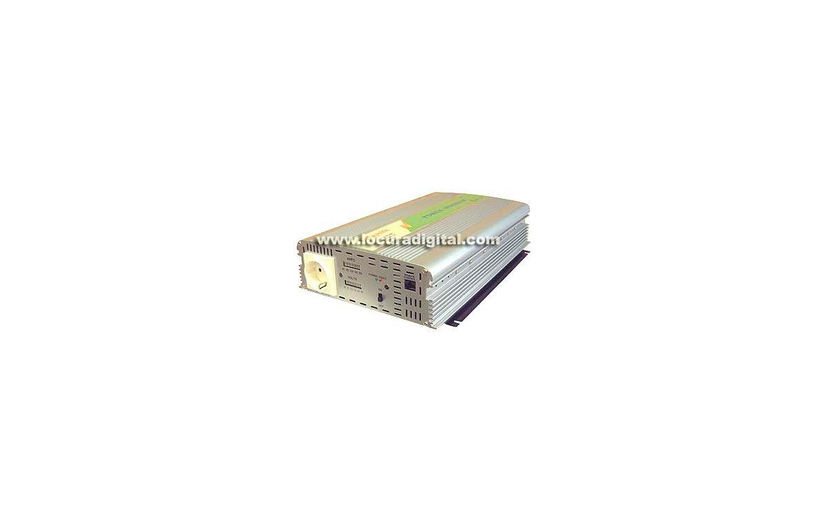 WHS1500 12. INVERSOR 12 V. a 220 V. Potencia 1500 WAT.