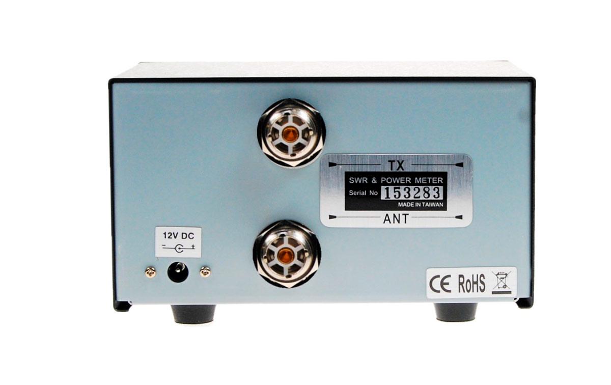 K-PO DG-103 Digital SWR+Watimetro HF1,6 a 60 Mhz.Potencia 1.200 watios