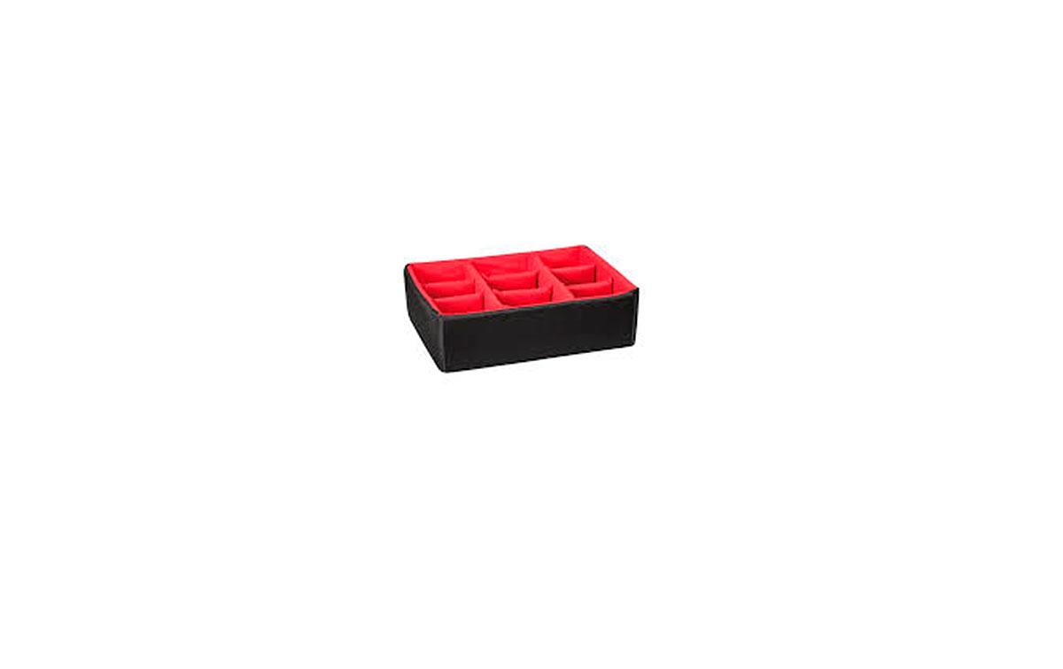 DIV-4419 Divisores acolchados con 9 divisiones. Divisores acolchados con divisiones ajustables internas. Ideal para proteger y transportar cualquier tipo de equipo sensible. Gracias a su modularidad, se pueden combinar fácilmente.