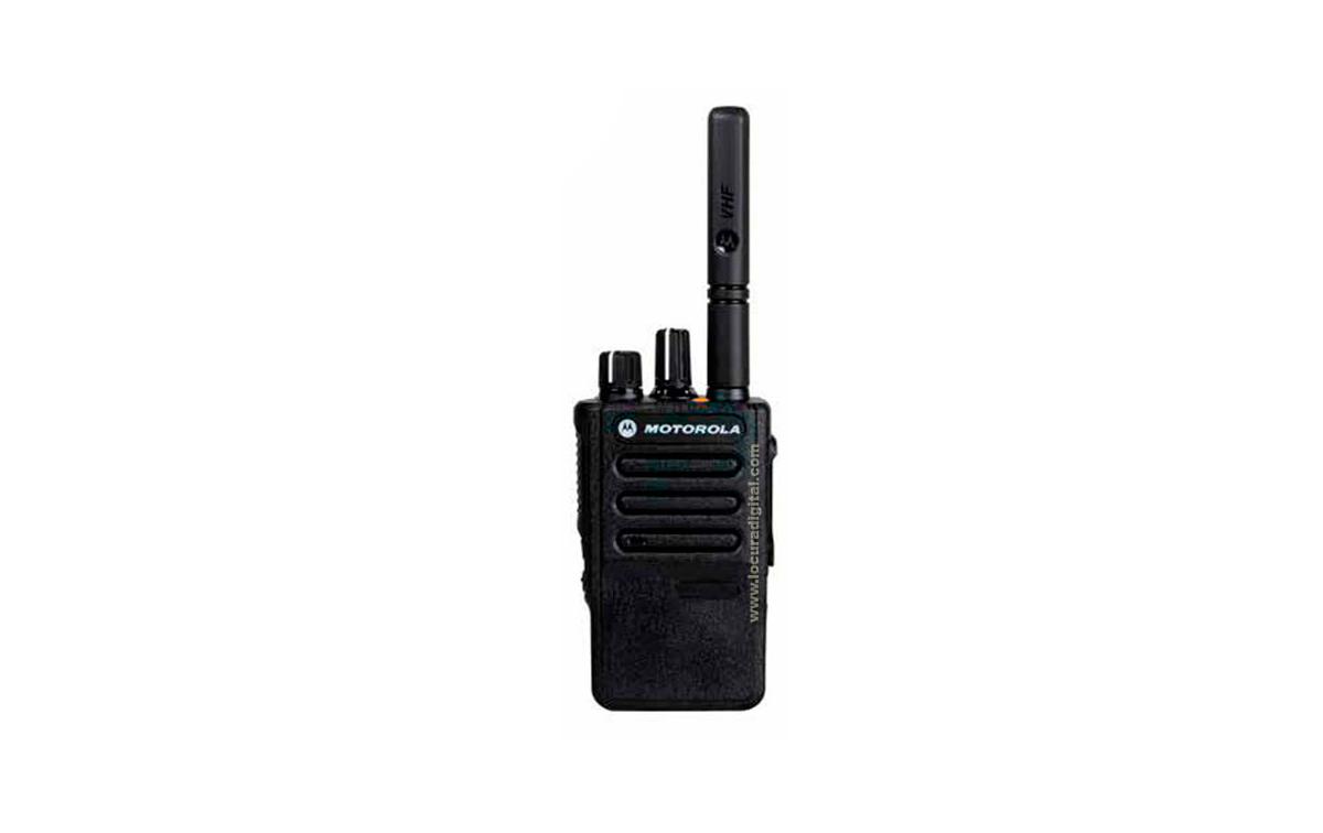 MOTOROLA DP-3441U MOTOTRBO DMR Digital - Analógico Portatil compacto UHF 410-470 Mhz