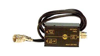 DX145 ZETAGI mezclador antenas VHF + RADIO FM