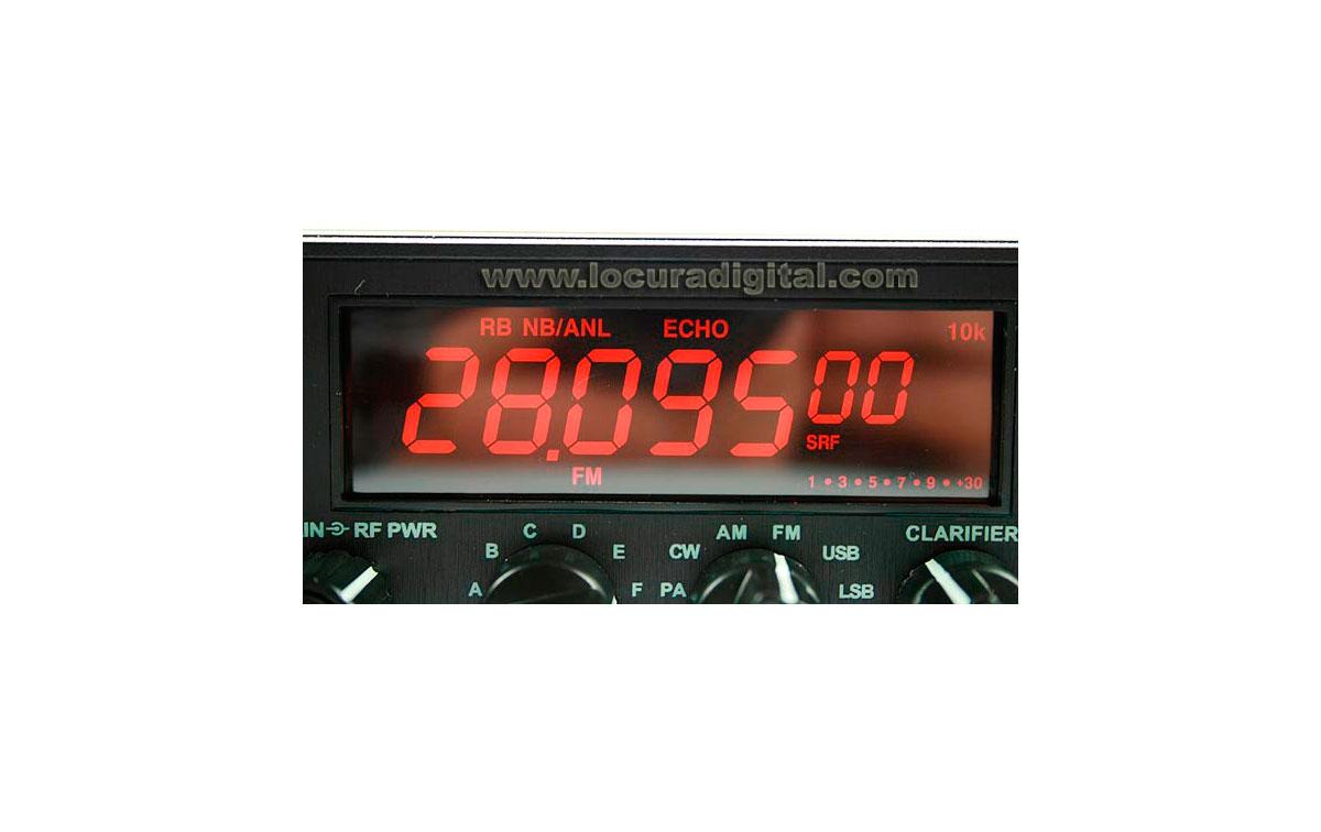 MAAS DX-5000 CB RADIO 28.000 - 29.700 MHz