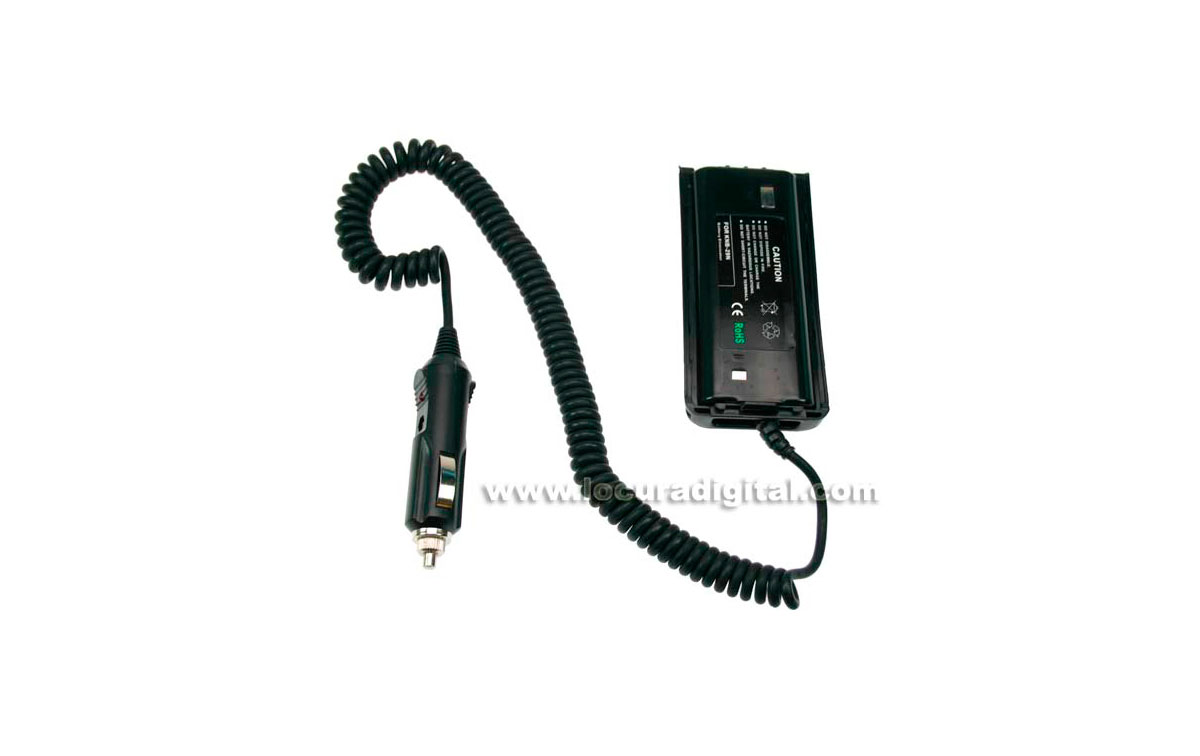 Nauzer NAU-110. Car charger adapter for KENWOOD TK-3101/3201/3301.