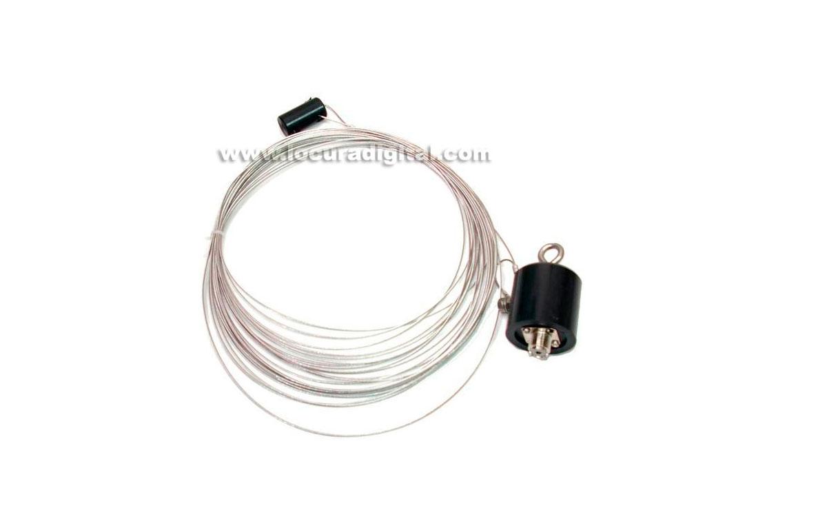MAASKW1 MAAS Dipolo fHF  10- 30 Mhz Fabricado en Alemania relación 1:9 longitud 6 metros. solo valid