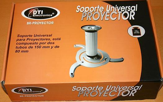 Br proyector soporte de techo para proyector universal - Soporte para proyectores techo ...