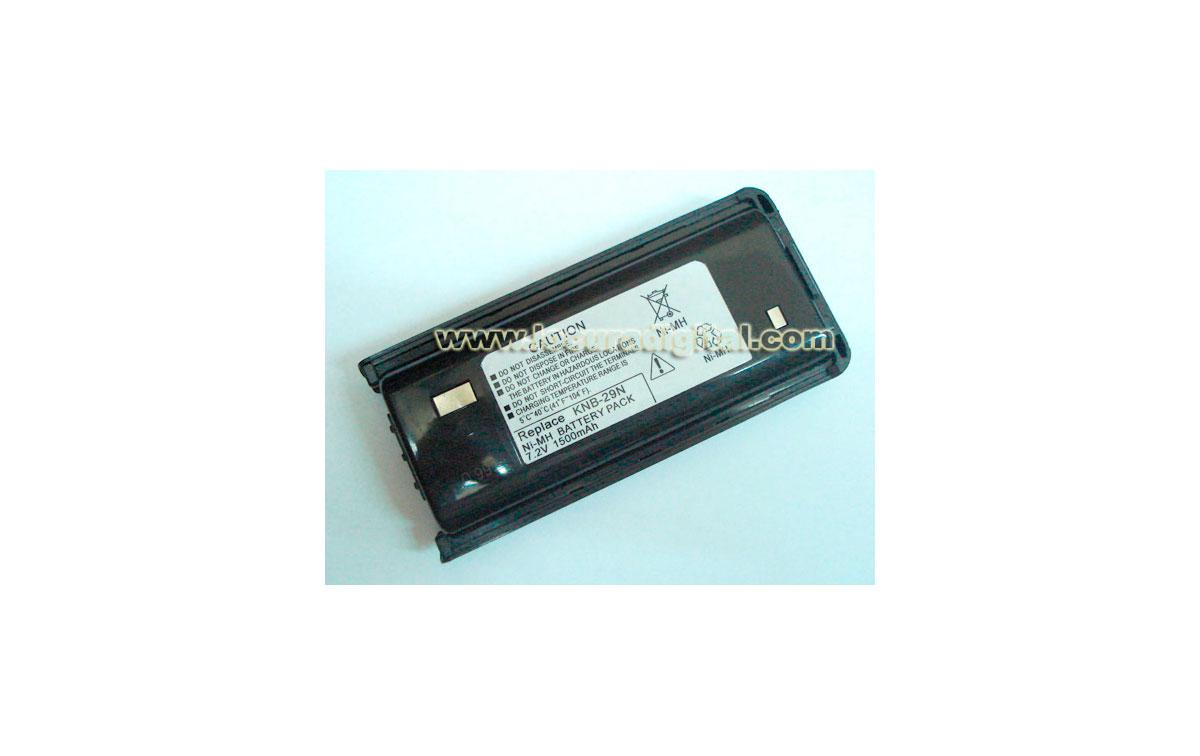 KNB29 EQ. Bateria EQUIVALENTE Kenwood Ni-Mh. 7.2v 1500 mAh. para walkie TK 3201