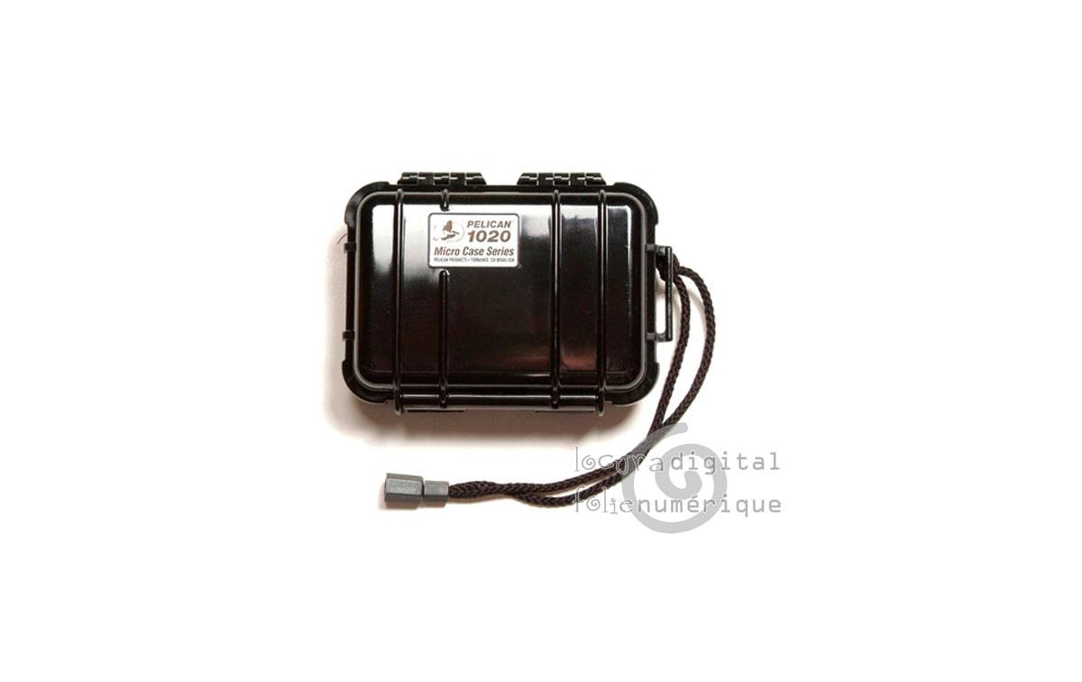 1020-025-110E Micro-Maleta de protección Negro - Opaco