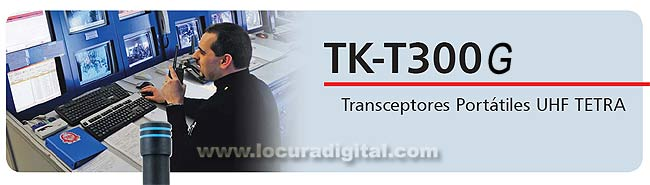 KENWOOD TK-T300 Transceptores Portátiles UHF TETRA FRECUENCIAS - 380-430 MHz CON GPS