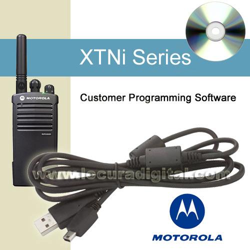 MOTOROLA IXEN4007AR Software y cable USB de programación