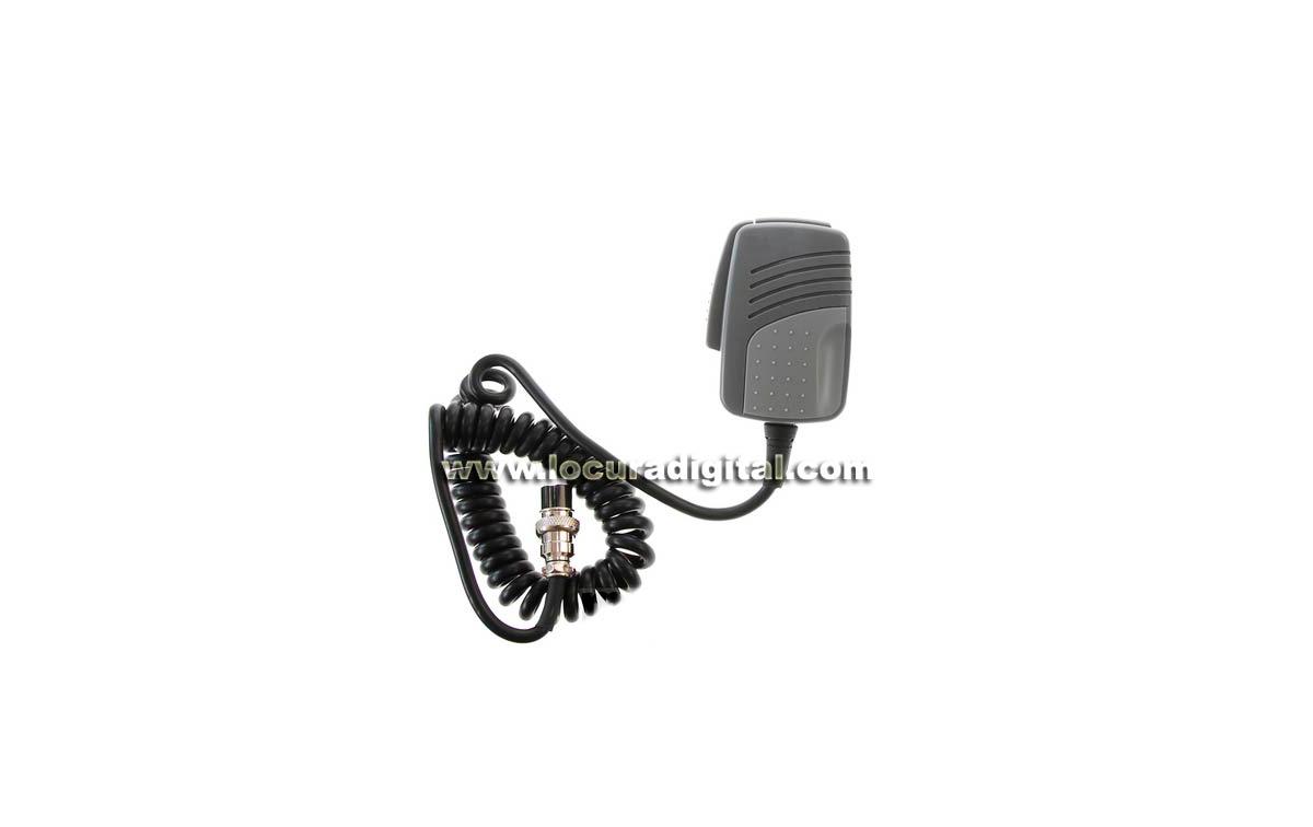 KM-506-P6 Micrófono para emisora de 6 PINS. Excelente calidad de audio, ---- nuevo y atractivo diseñ