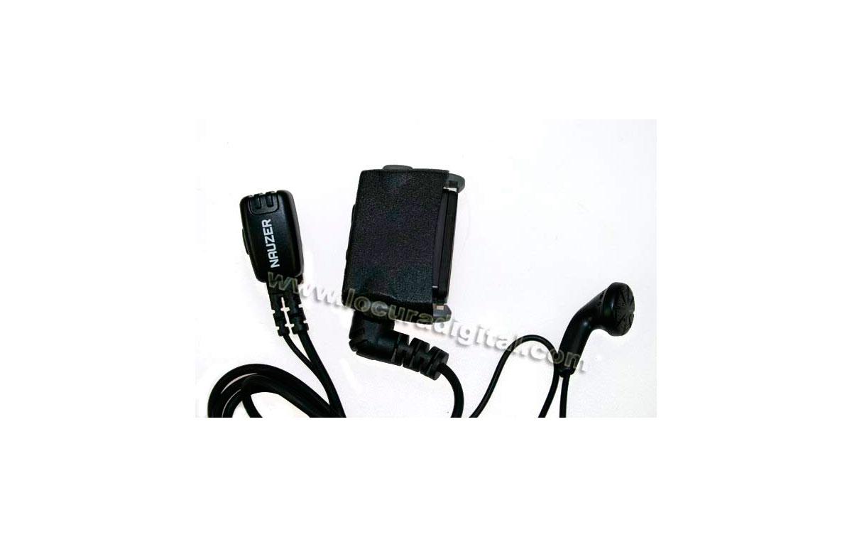 """PIN25N1P NAUZER Micro-Auricular PTT, tipo """"botón"""" para TETRA NOKIA 880"""
