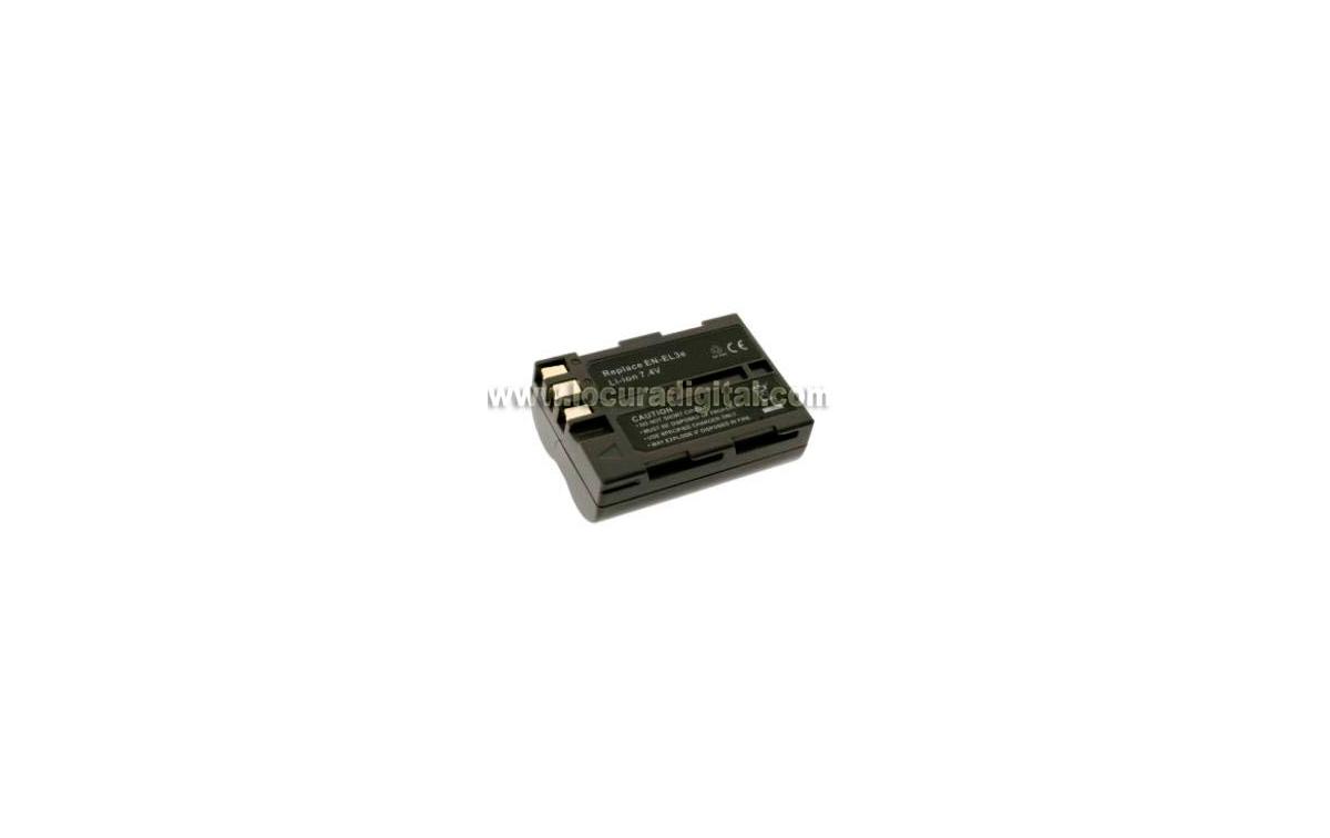 Batería DTL-L3e Li-Ion, compatible Foto NIKON, 7.4V 1400mAh