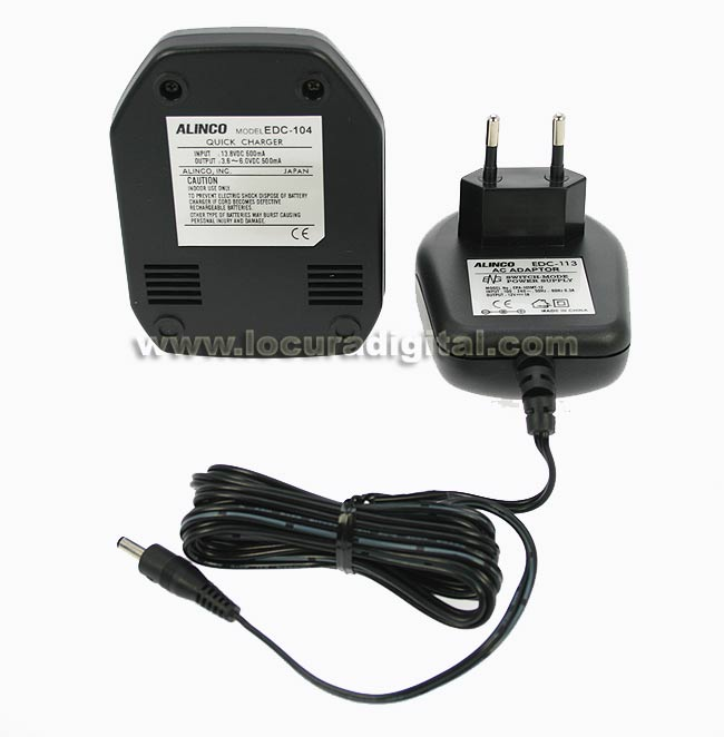 ALINCO EDC-104 Rapid transformer charger.