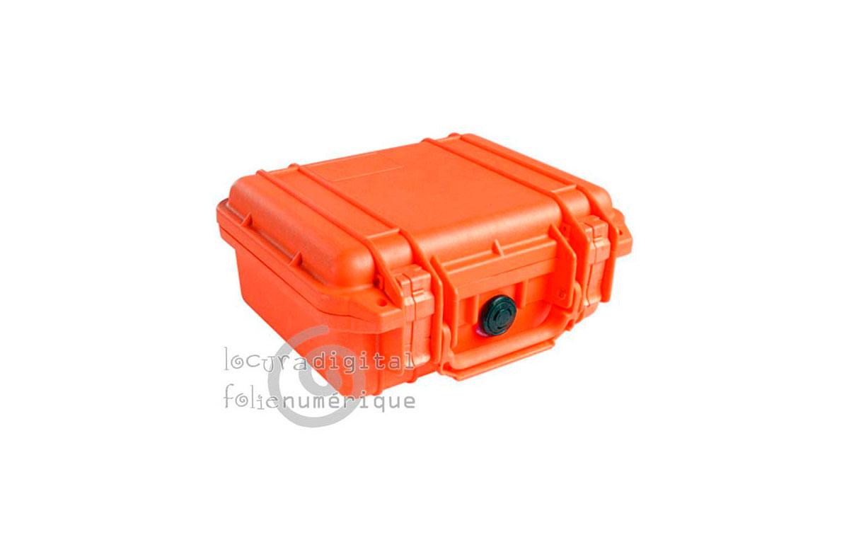1200-000-150 Maleta de protección Naranja, con espuma