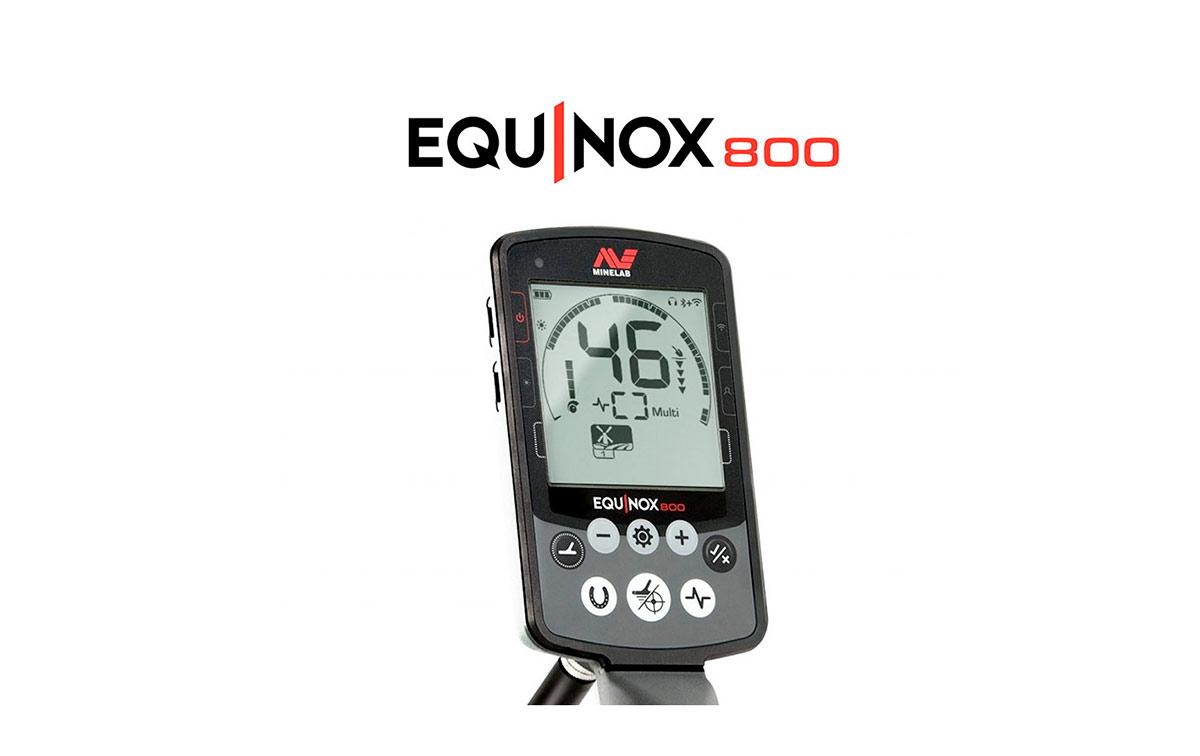 minelab equinox-800 detector de metales para todo tipo de metales oro ,plata , monedas etc.