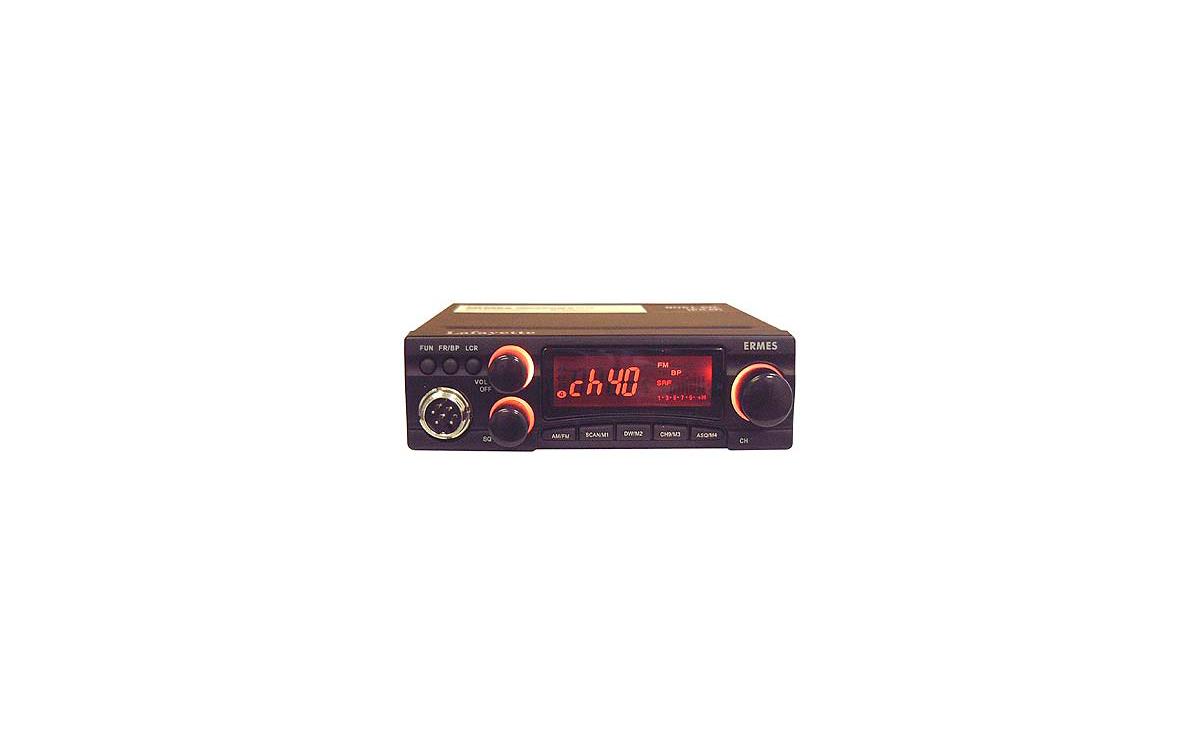 ERMESBLACK. Emisora CB 27 Mhz. marca LAFAYETTE modelo ERMES BLACK. Color NEGRO