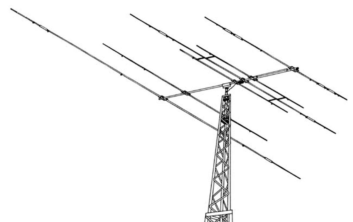 hy-gain explorer 14 triband antenna