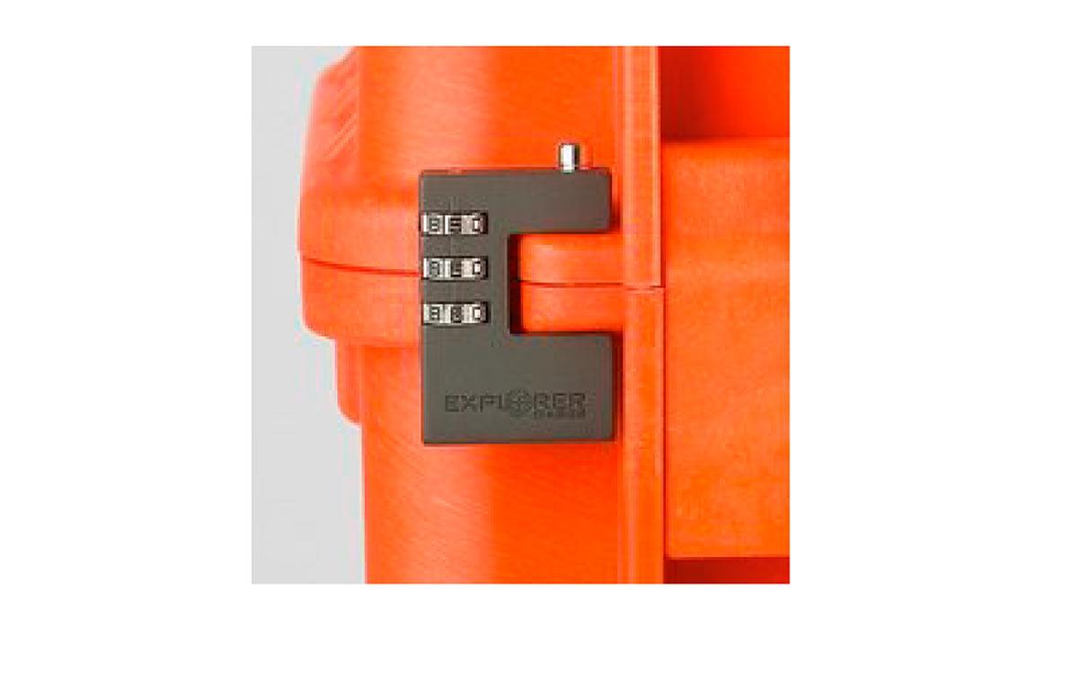 EXPL-COMBILOCK Candado especial de combinacion tres numeros para maletas Explorer