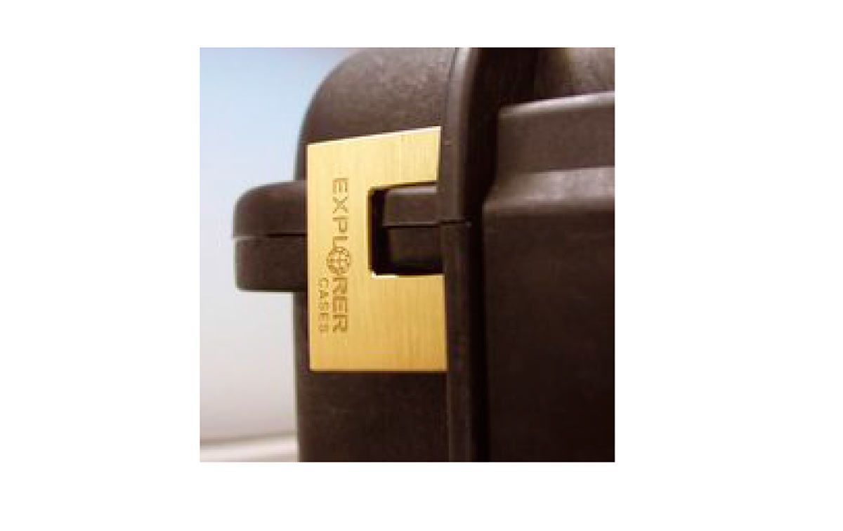 EXPL-PADLOCK Candado especial para maletas Explorer, Diseñado para ajustarse a la forma de la maleta Explorer, de modo que no se mueva.