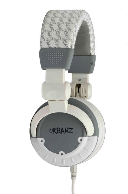 URBANZ BLOCK GW AURICULAR ESTEREO CONECTOR 3,5 mm. Color BLANCO Y GRIS.