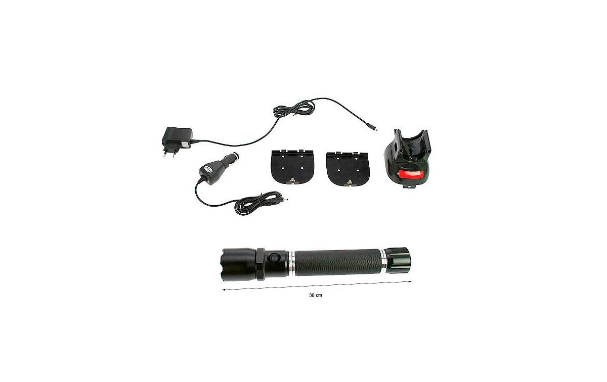 BARRISTER MAX-3D LINTERNA PROFESIONAL RECARGABLE LED CREE XPE-R3 LUMEN 250