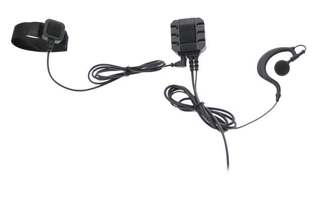 PIN-99 SPTT NAUZER Micro-Auricular con dos PTT. Pinganillo PROFESIONAL CON DOS PTT VALIDOS PARA ALAN, MIDLAMD, STANDARD