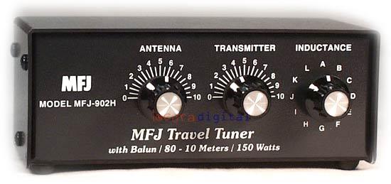 MFJ 902H ACOPLADOR DE ANTENAS HF 3,5- 30 Mhz