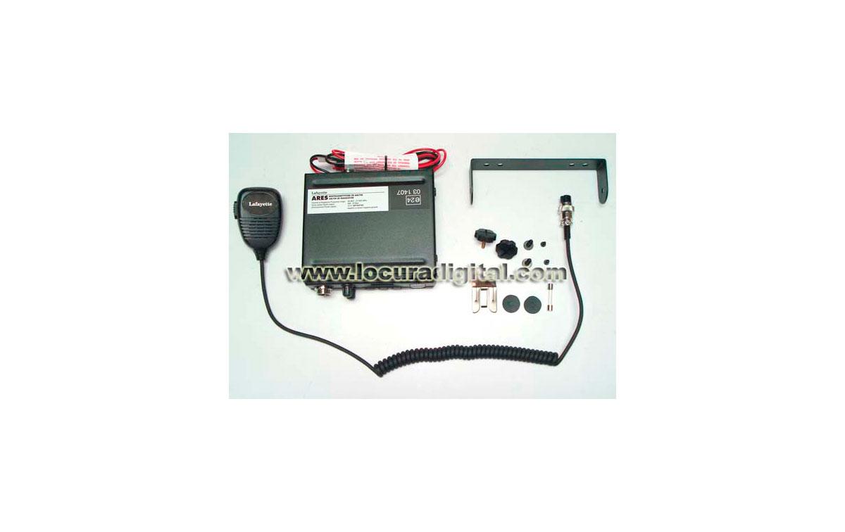 Lafayette Ares Black Kit A. 27 Mhz CB transceiver. kit