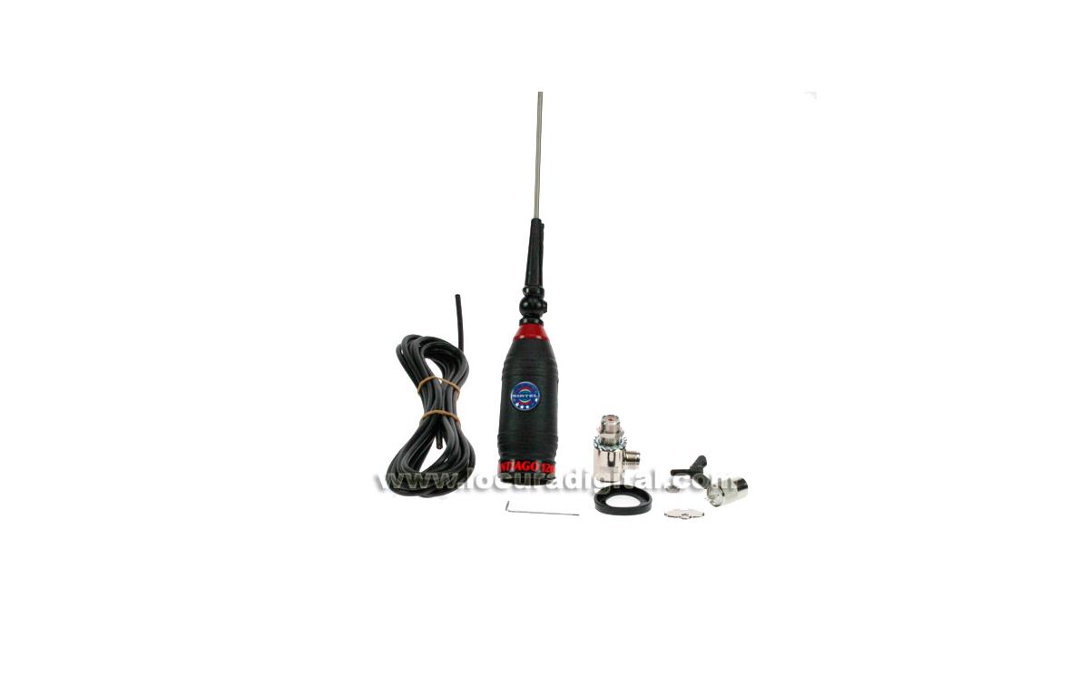 SANTIAGO 1200 SIRTEL  Antena completa + cable y base movil CB - SIRTEL SANTIAGO 1200 ORIGINAL FABRIC