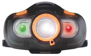 FOCUS EBRT LAFAYETTE linterna profesional para cabeza, con cargador