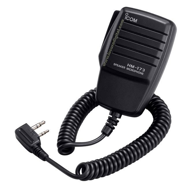 Microphone haut-parleur de l'ICOM pour ICA-6, ICA ICOM-24