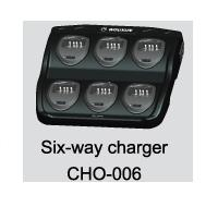 WOUXUN CHO-006 Desktop Charger for 6 WOUXUN handhelds