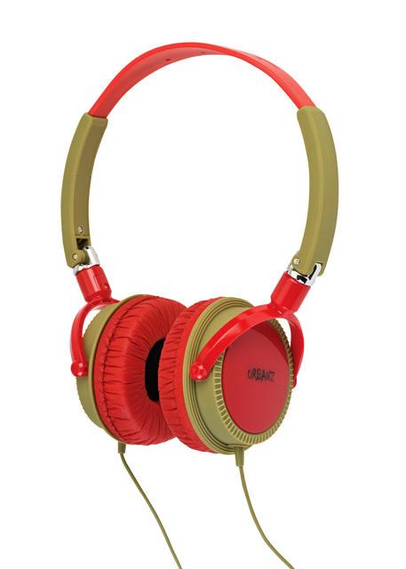 URBANZ WILD RED AURICULAR ESTEREO CONECTOR 3,5 mm. Color ROJO.