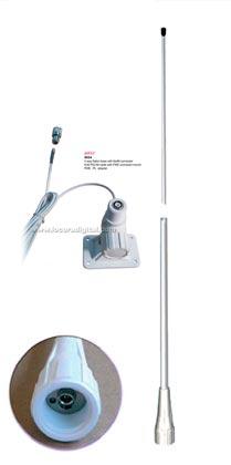 fastfit 25 vhf kit1 base fastfit banten antena marina nautica fibra vidrio vhf 156 162 mhz.6 db.2,5 mt.