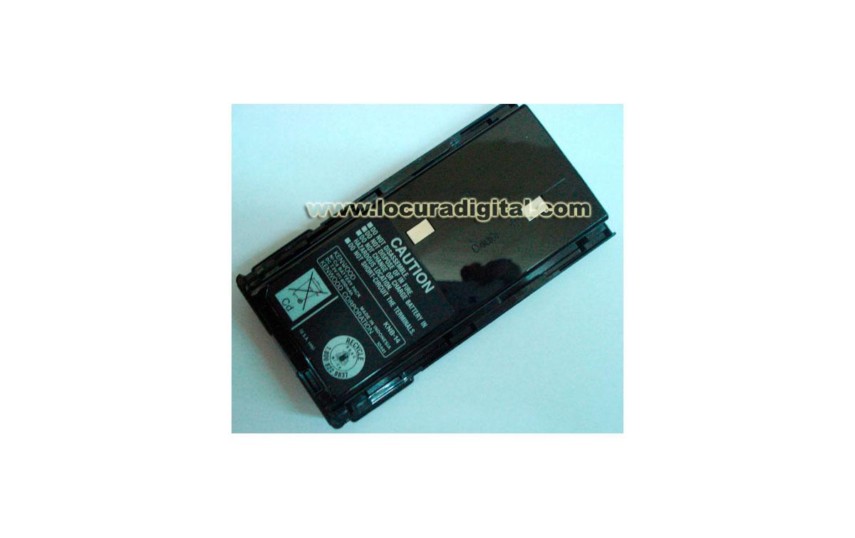 KNB14L Batería Original Kenwood. Ni-Cd 7.2V 600mAh. Modelos: TK3101 TK360 ---- MODELO DESCATALOGADO