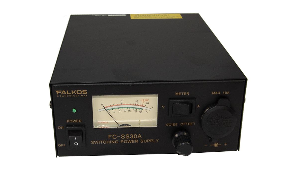 FALKOS FC-SS30A Fuente Alimentación Conmutada 13,8 volts, 20 - 30 amp.